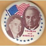 Truman 2J - Truman Barkley Campaign Button