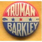 Truman 4C - Truman Barkley Campaign Button