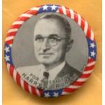 Truman 7A - For President Harry S. Truman Campagin Button