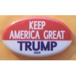 Trump 11J - Keep America Great Trump 2020 Campaign Button