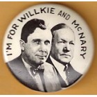 Wendell L. Willkie Campaign Buttons (10)