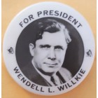 Wendell L. Willkie Campaign Buttons (13)