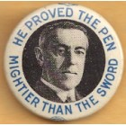 Woodrow Wilson Campaign Buttons (6)