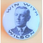 Woodrow Wilson Campaign Buttons (4)