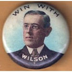 Wilson 5D - Win With WIlson Campaign Button