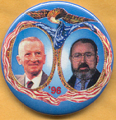 Ross Perot 1996 campaign button.