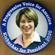 Amy Klobuchar 2020 Campaign Button