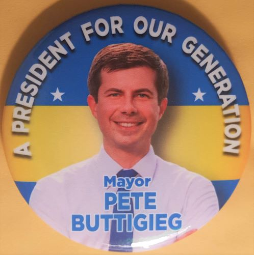 Pete Buttigieg Campaign Button