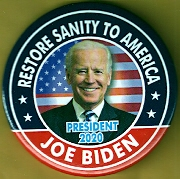 Joe Biden campaign button