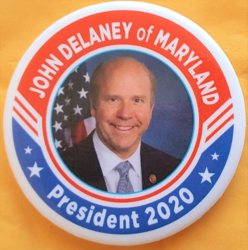 John Delaney 2020 Campaign Button