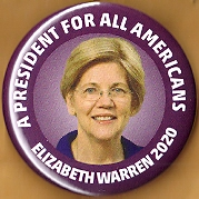 Elizabeth Warren 2020 Campaign Button
