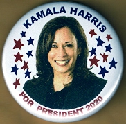 Kamala Harris 2020 Campaign Button