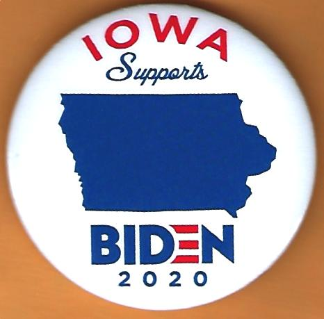 Joe Biden Iowa Campaign Button