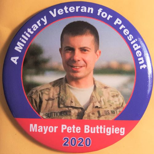 Pete Buttigieg 2020 Campaign Button
