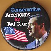 Ted Cruz for President campaign button