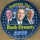Jeb Bush Campaign Buttons