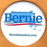 Sanders  5D  - Massachusetts For Bernie  Campaign Button