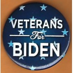 Biden 8E  - Veterans For  Biden Campaign Button