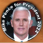 R2024 1A - Mike Pence  for President 2024 Campaign Button