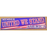 3rd Party 40J - Member United We Stand America Bumpersticker