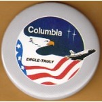AD 4D -  Columbia Engle - Truly (Space Shuttle) Button