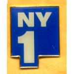 AD 17A - NY1 Lapel Pin