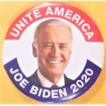 Biden 9G  - Unite America  Joe Biden 2020  Campaign Button
