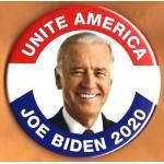 Biden 11G  - Unite America  Joe Biden 2020  Campaign Button