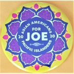 Biden 12A  -  Asians Americans Pacific Islanders For Joe  2020  Campaign Button