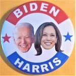 Biden 8J  -  Biden  Harris  Campaign Button