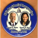 Biden 2021 2A  -  59th Presidential Inauguration Joseph R. Biden President Kamala D.  Harris Vice President January 20 , 2020   Campaign Button