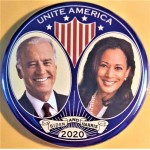 Biden 12D  -  Unite America Biden And Harris 2020   Campaign Button
