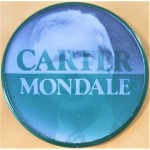 Carter 17G  - Carter  Mondale Flasher Campaign Button
