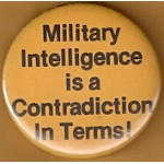 Cause 44C - Military Intelligence is a Contradiction In Terms Cause Button