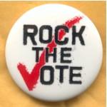 Cause 3D - Rock The Vote Campaign Button