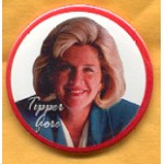 Clinton 88A - Tipper Gore Campaign Button