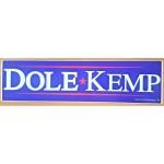 Dole 7N - Dole  Kemp Bumper Sticker