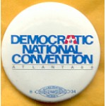 Dukakis 42A - Democratic National Convention Atlanta 88 Campaign Button