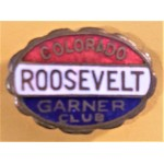 FDR 11J - Colorado Roosevelt Garner Club  Lapel Pin