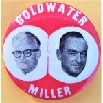 Goldwater 16A - Goldwater Miller Campaign Button