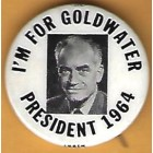 Barry Goldwater Campaign Buttons (7)