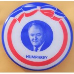 HHH 5R - Humphrey Campaign Button