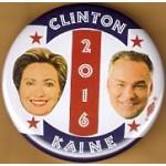 Hillary 38G - Clinton Kaine 2016 Campaign Button