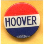 Hoover 1C - Hoover Campaign Button