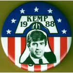 Hopeful 52G - Kemp 1988 Campaign Button