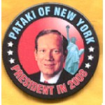 Hopeful 5D  - Pataki of New York President in 2008 Campaign Button