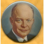"IKE 11C - Dwight ""IKE"" Eisenhower Campaign Button"