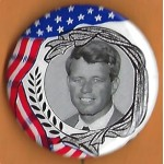 Kennedy RFK 35G -  (Robert F. Kennedy) Campaign Button