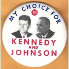 John F. Kennedy Campaign Buttons (8)