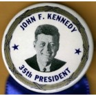 John F. Kennedy Campaign Buttons (2)